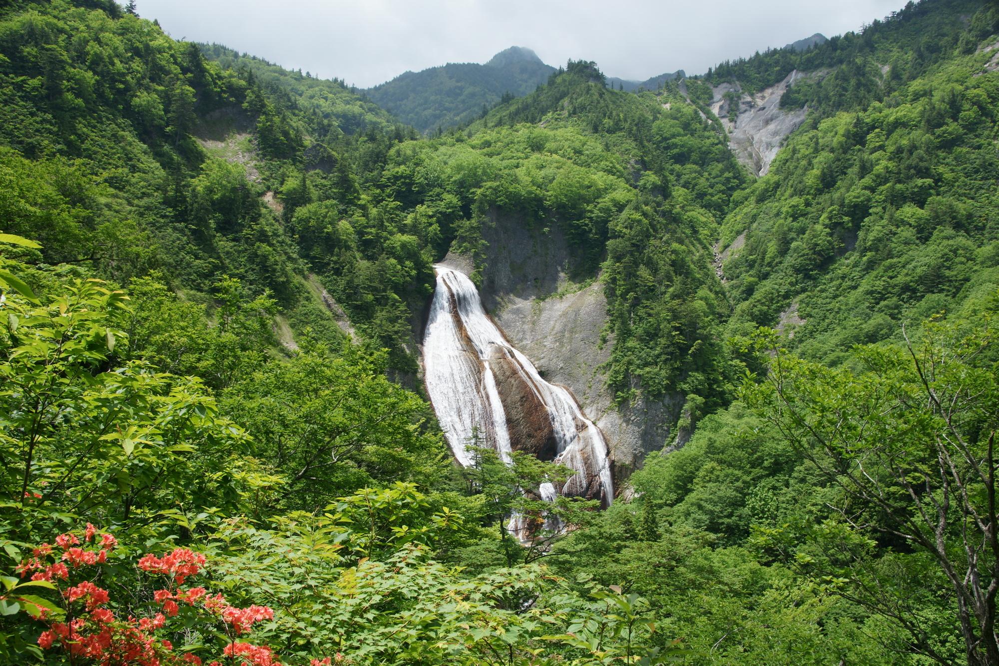 滑川大滝(なめがわおおたき)