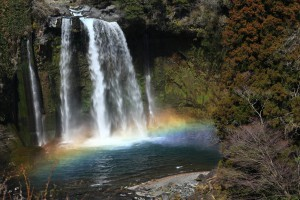 白糸の滝+音止めの滝